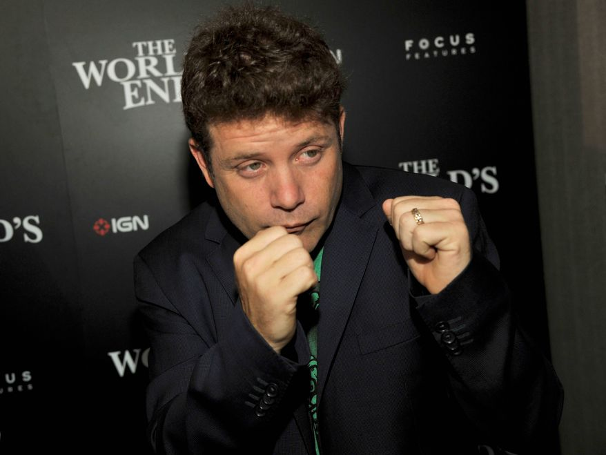 "Actor Sean Astin invites listeners to meet ""occasionally interested people"" on his online radio show soon to be on regular airwaves. (Invision via Associated Press)"