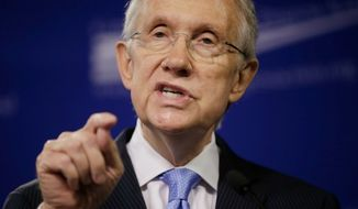 ** FILE ** Senate Majority Leader Harry Reid, D-Nev. (Associated Press)