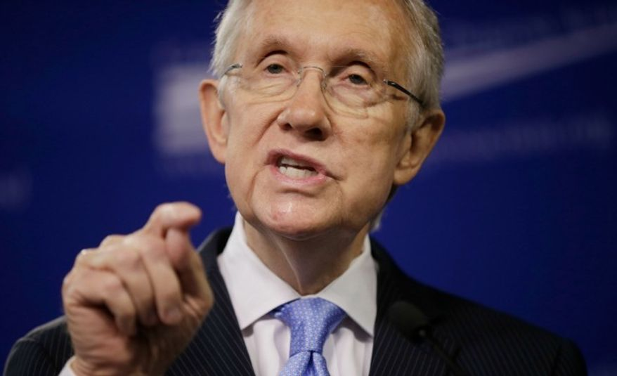 ** FILE ** Senate Majority Leader Harry Reid, D-Nev. (Associated Press)