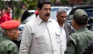 Venezuelan President Nicolas Maduro (AP Photo/Ariana Cubillos)