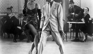 "** FILE ** Cyd Charisse and Fred Astaire in ""The Band Wagon"" in 1953. (Associated Press)"