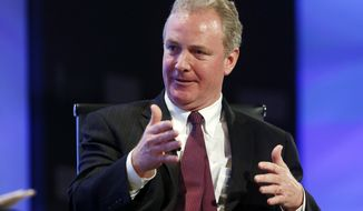 ** FILE ** In this May 7, 2013, file photo, Rep. Chris Van Hollen, D-Md. speaks in Washington. (AP Photo/Charles Dharapak, File)