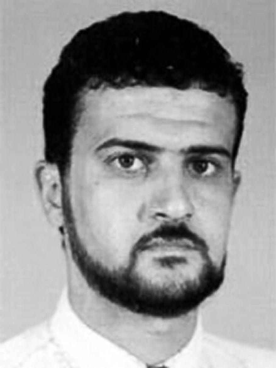 Nazih Abdul-Hamed al-Ruqai, whose alias is Abu Anas al-Libi, was seized by U.S. forces in Tripoli, Libya, on Saturday, Oct. 5, 2013, in connection with the 1998 embassy bombings in eastern Africa. (AP Photo/FBI)