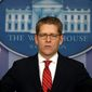"""We don't have that data,"" White House press secretary Jay Carney says, echoing others, including the president, who don't know how many people have signed up for coverage under the Affordable Care Act. (Associated Press)"