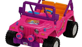 Power Wheels Fisher-Price Barbie Jammin' Jeep (Courtesy of toysrus.com)