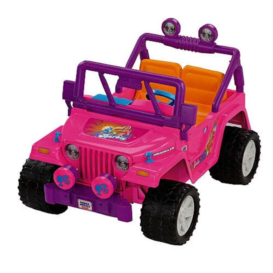 Power Wheels Fisher-Price Barbie Jammin' Jeep (Courtesy of toysrus.com)