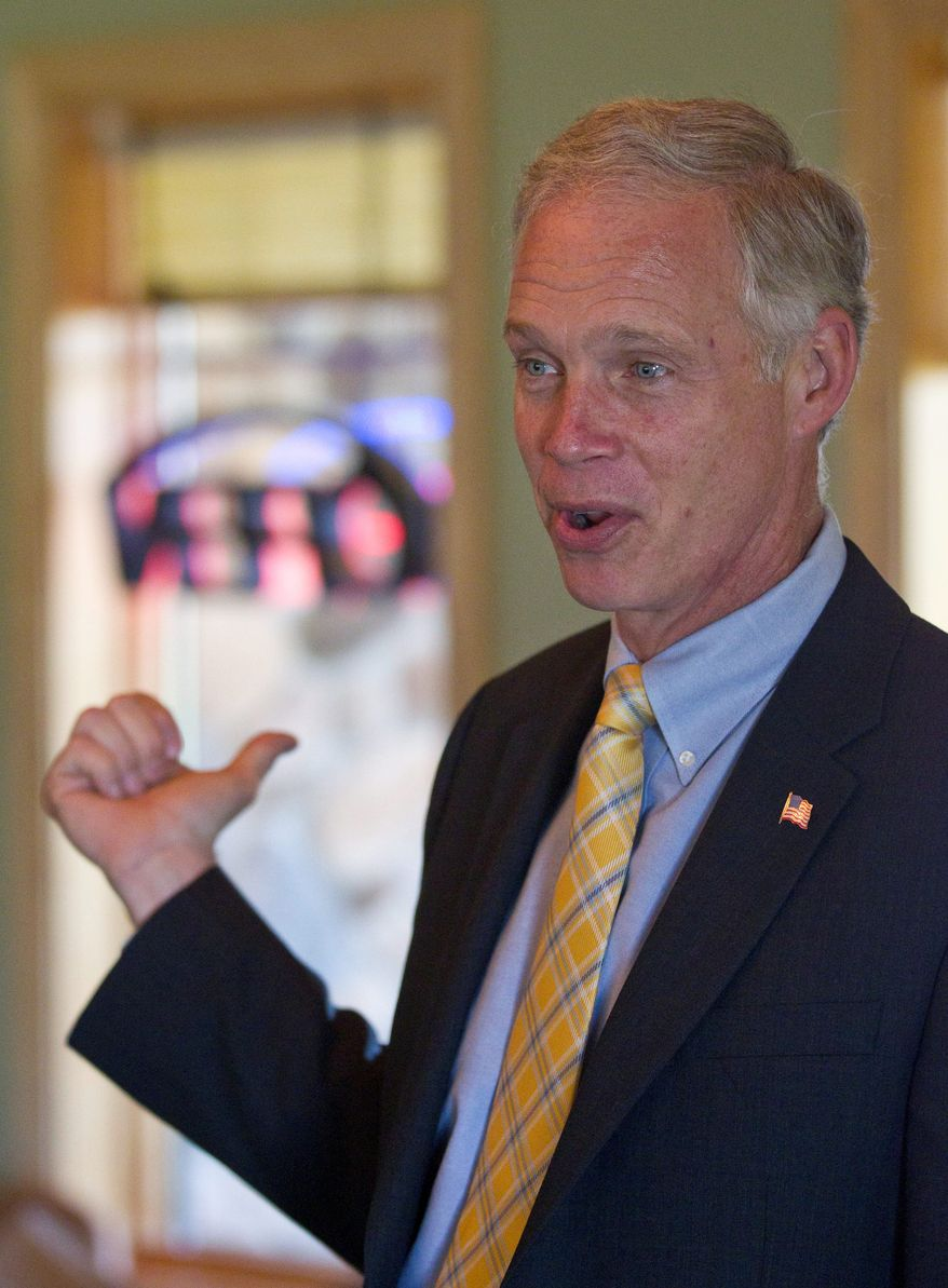 Sen. Ron Johnson, Wisconsin Republican, said he is troubled by the lack of cooperation from the Obama administration and the inspector general's office in regards to the Secret Service prostitution probe. (ASSOCIATED PRESS)