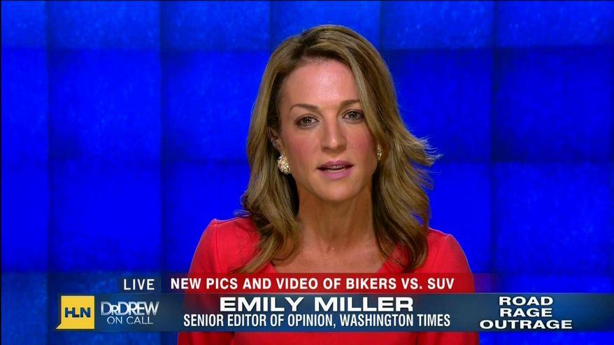 Emily Miller on CNN HLN. Oct. 7, 2013