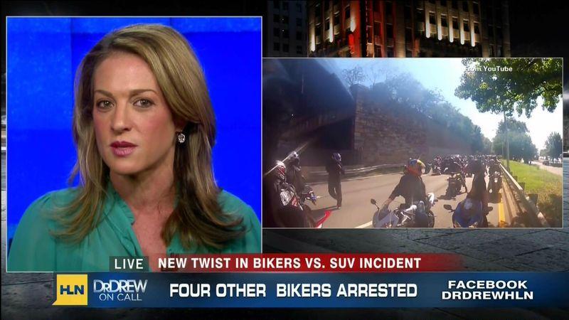 """Emily Miller on CNN HLN """"Dr Drew on Call"""" on Oct. 8, 2013."""