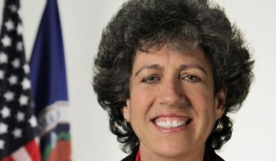 Elaine Kaplan was appointed as Acting Director of the Office of Personnel Management (OPM) on April 15, 2013. (Screen grab from https://www.opm.gov/)