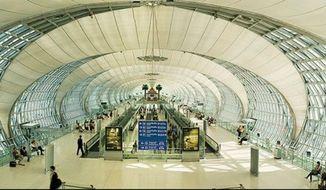 Suvarnabhumi airport, Thailand. (Image: Facebook)