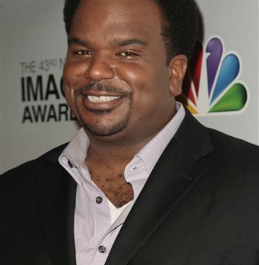 ** FILE ** Actor Craig Robinson arrives at the nominations for the 43rd NAACP Image Awards in Beverly Hills, Calif., Jan. 19, 2012. (Associated Press)