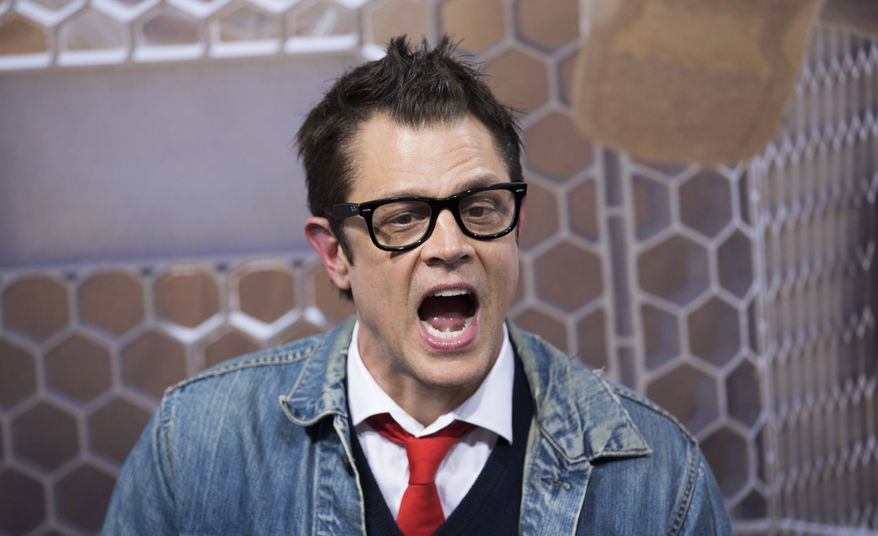 """** FILE ** U.S. actor Johnny Knoxville arrives for the German premiere of the movie """"Bad Grandpa"""" in Berlin, Germany, Friday, Oct. 11, 2013. (AP Photo/Gero Breloer)"""