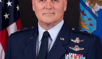Maj. Gen. Michael Carey. (Screen grab from http://www.af.mil/)