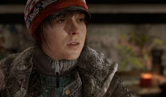 Ellen Page co-stars in the visually stunning video game Beyond: Two Souls for the PlayStation 3.