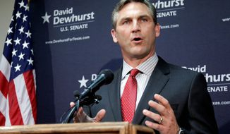 Craig James said he was fired as a Fox football analyst after he said during a Senate campaign that he believed in marriage between a man and a woman. (Associated Press)