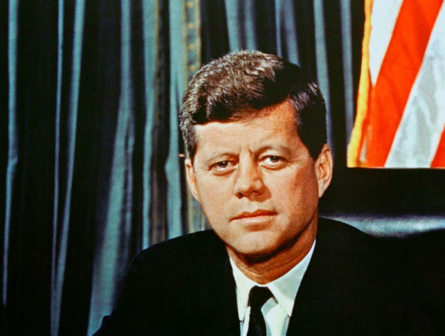 ** FILE ** President John F. Kennedy was the nation's only Catholic president. (Associated Press)