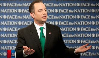 """""""There must be accountability for this astounding failure and waste of taxpayer money,"""" Republican National Committee Chairman Reince Priebus says, in calling for the firing of Kathleen Sebelius. (Associated Press)"""