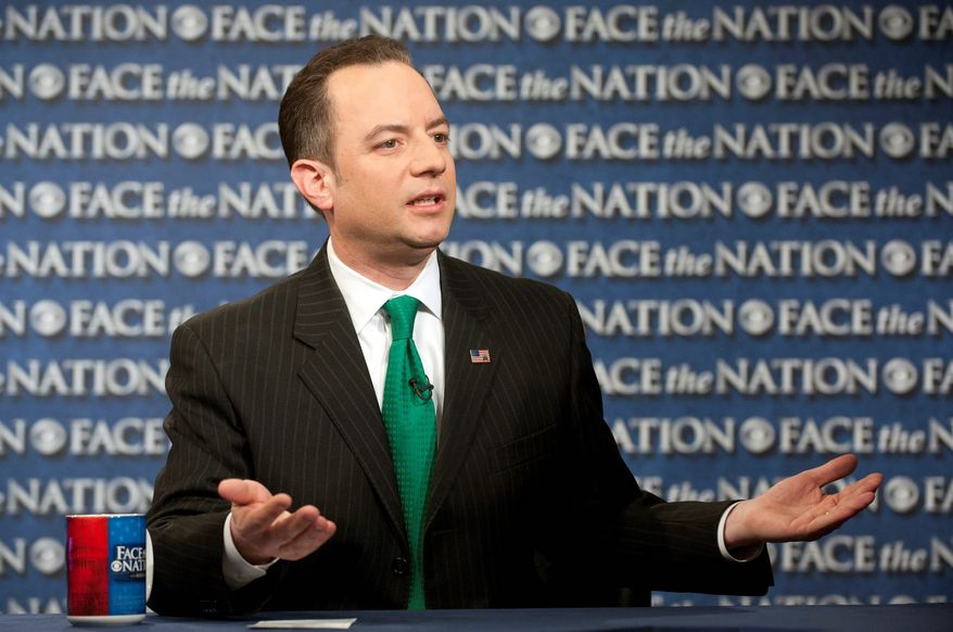 """There must be accountability for this astounding failure and waste of taxpayer money,"" Republican National Committee Chairman Reince Priebus says, in calling for the firing of Kathleen Sebelius. (Associated Press)"