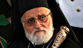 Patriarch Gregorios III (Screen grab from Wikipedia.org)