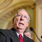 ** FILE ** Senate Minority Leader Mitch McConnell, Kentucky Republican (Associated Press)