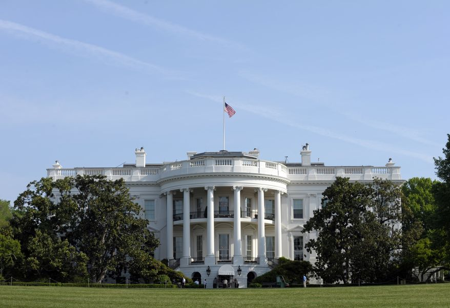 The South Lawn of the White House in Washington is pictured on April 21, 2012. (AP Photo/Susan Walsh)