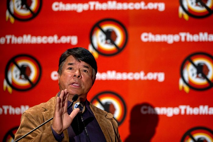 Ray Halbritter, national representative of the Oneida Indian Nation, has been called a fraud who is trying to use the controversy over the Redskins name to raise his political profile, but he has won a number of legal challenges against him. (Associated Press)