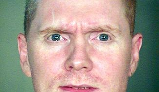 Robert Glen Jones Jr. was executed on Wednesday, Oct. 23, 2013, in Florence, Ariz., for the fatal shootings of six people during two armed robberies in Tucson, Ariz., in 1996. (AP Photo/Arizona Department of Corrections)