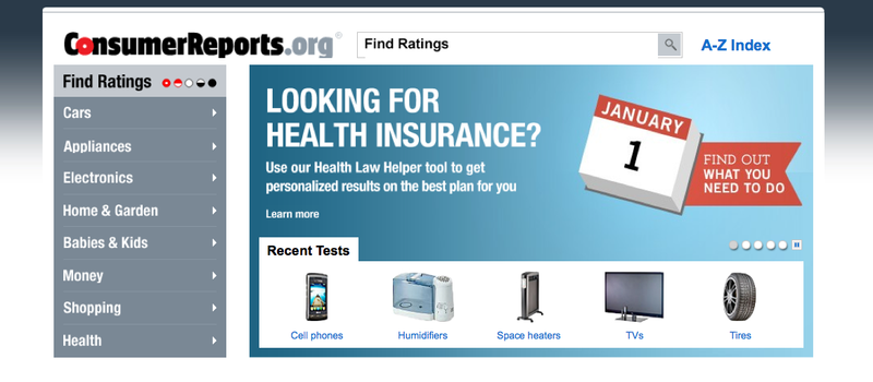 (Screen grab from ConsumerReports.org)