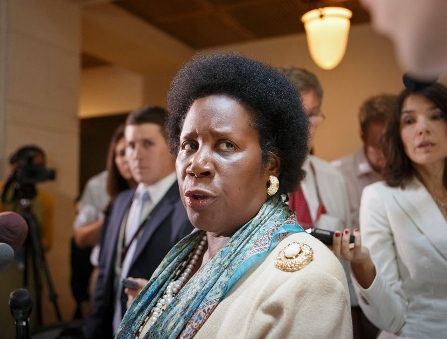 Rep. Sheila Jackson Lee, Texas Democrat (Associated Press) **FILE**