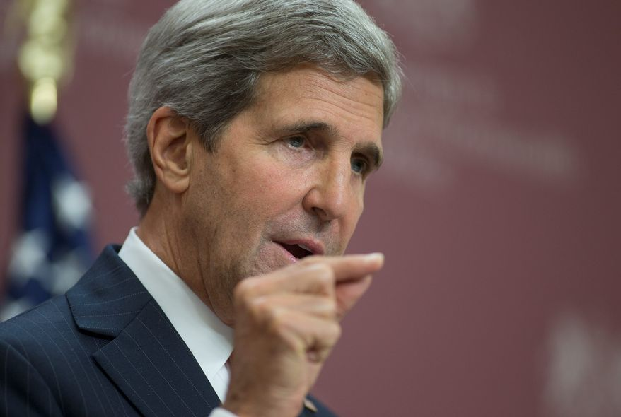 Secretary of State John Kerry said he is aware that the Saudis are unhappy that the U.S. has not followed through on threats to use force against the Syrian regime after its use of chemical weapons.