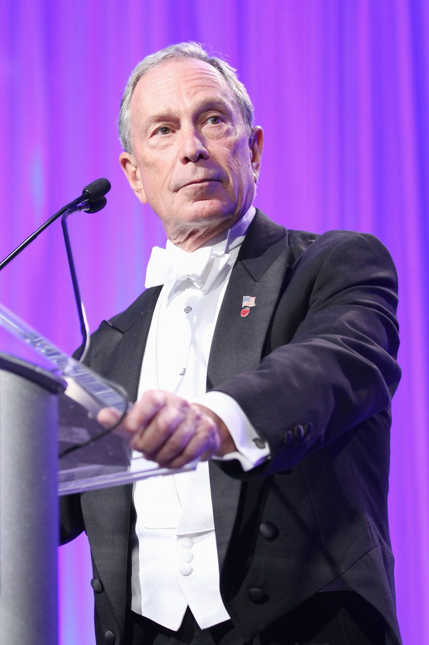 New York Mayor Michael R. Bloomberg is getting involved in the Virginia gubernatorial race, even though many want him to stay out of the state's business. (Invision via Associated Press)
