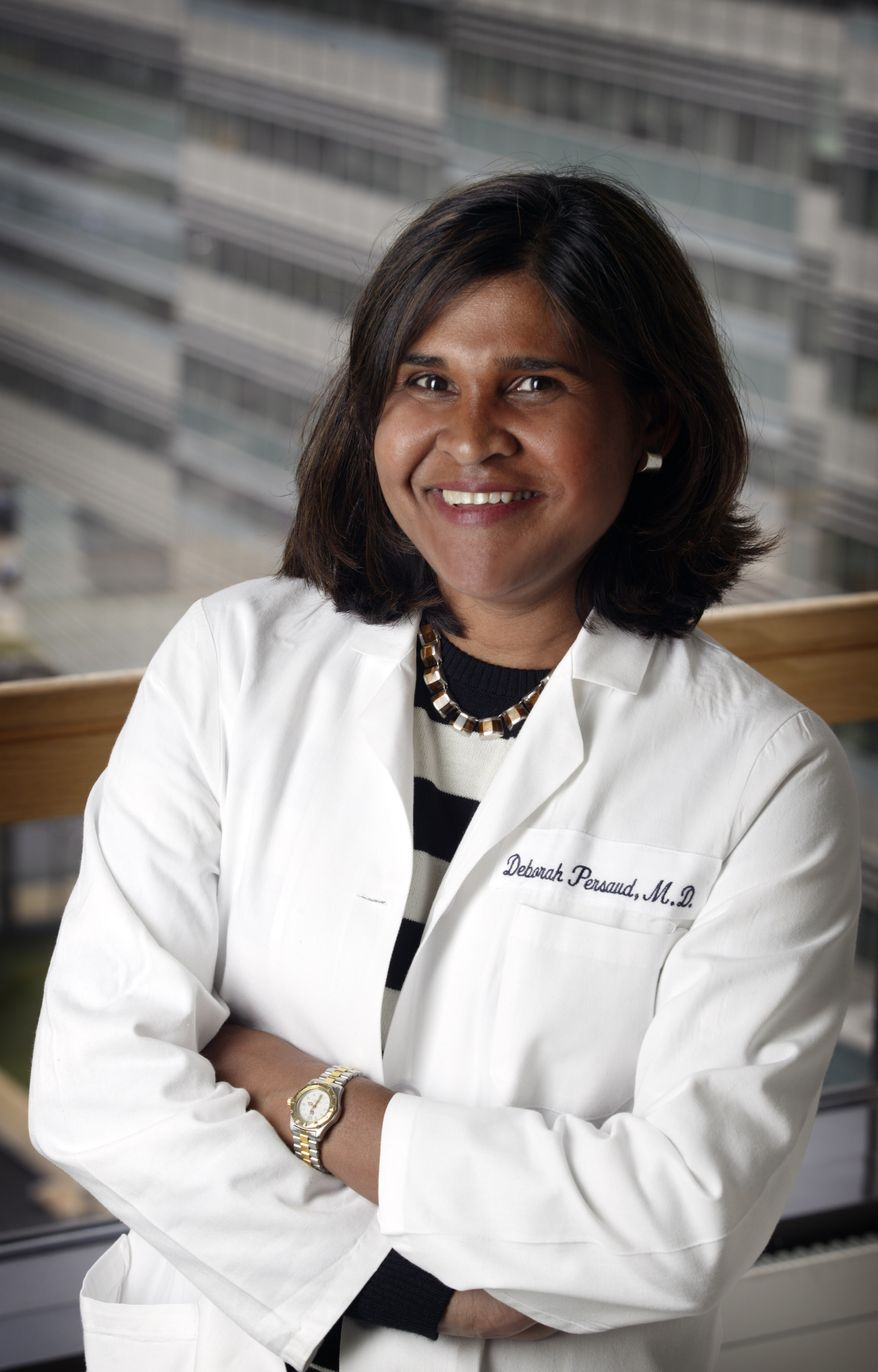 This undated image image provided by Johns Hopkins Medicine shows Dr. Deborah Persaud of Johns Hopkins' Children's Center in Baltimore. The new report, published online Wednesday Oct. 23, 2013, by the New England Journal of Medicine, makes clear that a girl, now 3, was infected in the womb. She was treated unusually aggressively and shows no active infection despite stopping AIDS medicines 18 months ago. Persaud helped investigate the case. (AP Photo/Johns Hopkins Medicine)