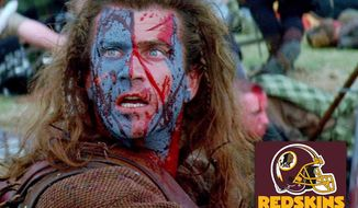 Braveheart the new Redskins?