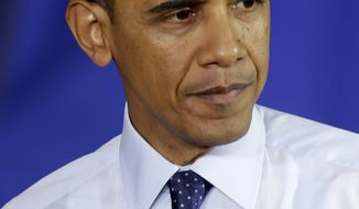 ** FILE ** President Obama. (AP Photo/Seth Wenig)