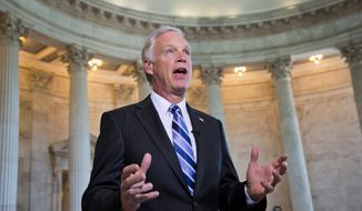 Sen. Ron Johnson, Wisconsin Republican, plans legislation against the Affordable Care Act that will make use of President Obama's own words to get its point across. (Associated Press)