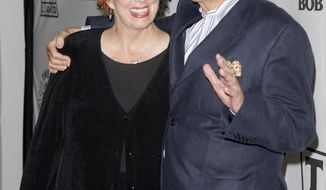 "Actress Marcia Wallace and actor Bill Daily arrive for TV Land's 35th-anniversary tribute to ""The Bob Newhart Show"" in Beverly Hills, Calif., on Wednesday, Sept. 5, 2007. Miss Wallace, who played a receptionist on the show, as well as voicing the role of Edna Krabappel on the animated ""The Simpsons,"" has died at age 70. (AP Photo/Mark J. Terrill)"