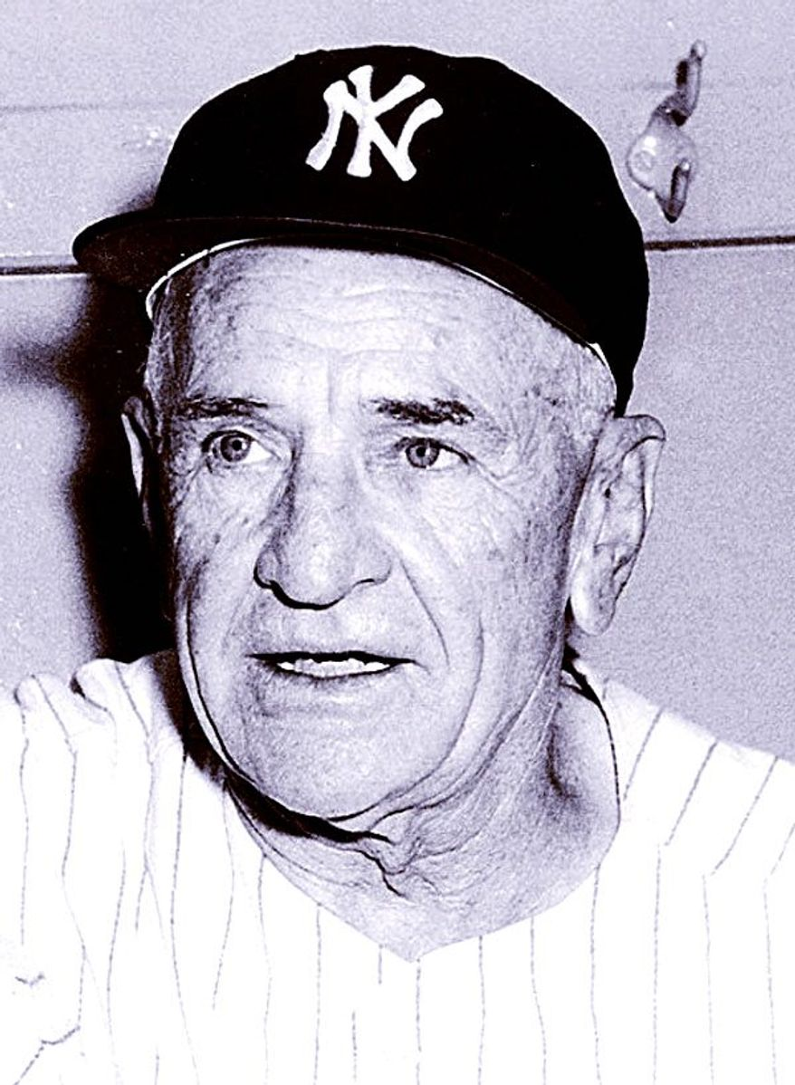 Casey Stengel      Associated Press photo