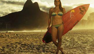 Surfer Maya Gabeira from Redbull.com