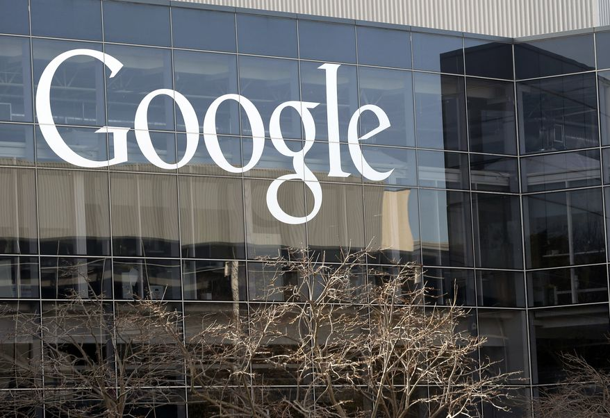 The Google logo is pictured at the company's headquarters in Mountain View, Calif., on Thursday, Jan. 3, 2013.  (AP Photo/Marcio Jose Sanchez)