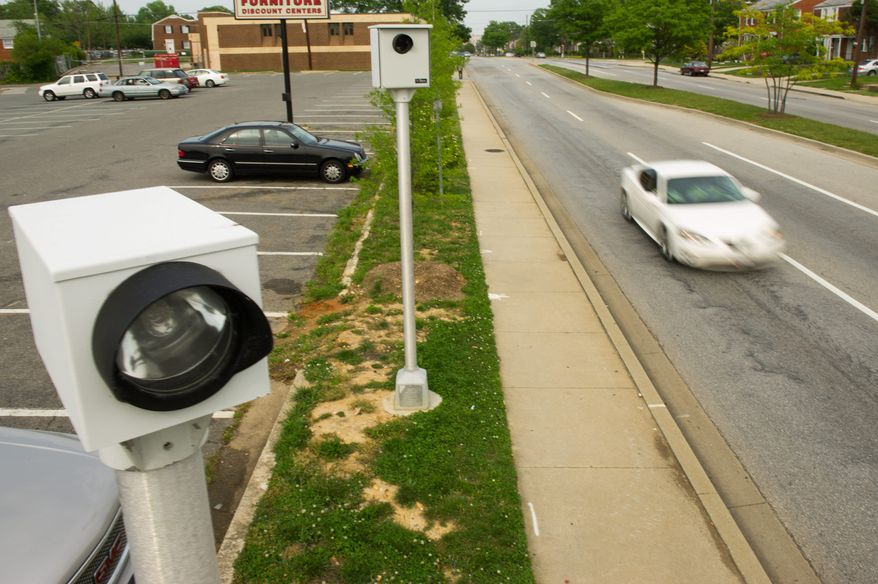 The installation of speed cameras has led to multiple cases of vandalism in Montgomery County. (the washington times)