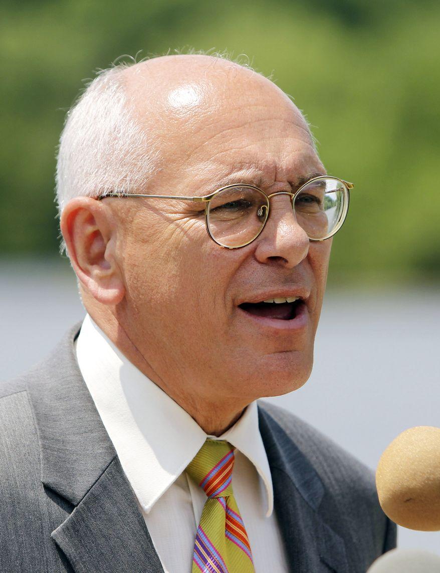 **FILE** U.S. Rep. Paul Tonko, New York Democrat, speaks in Fort Edward, N.Y., on June 10, 2011. (Associated Press)