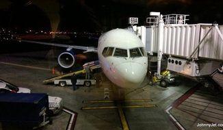 Delta Flight 2255. (Screen grab from JohnnyJet.com)