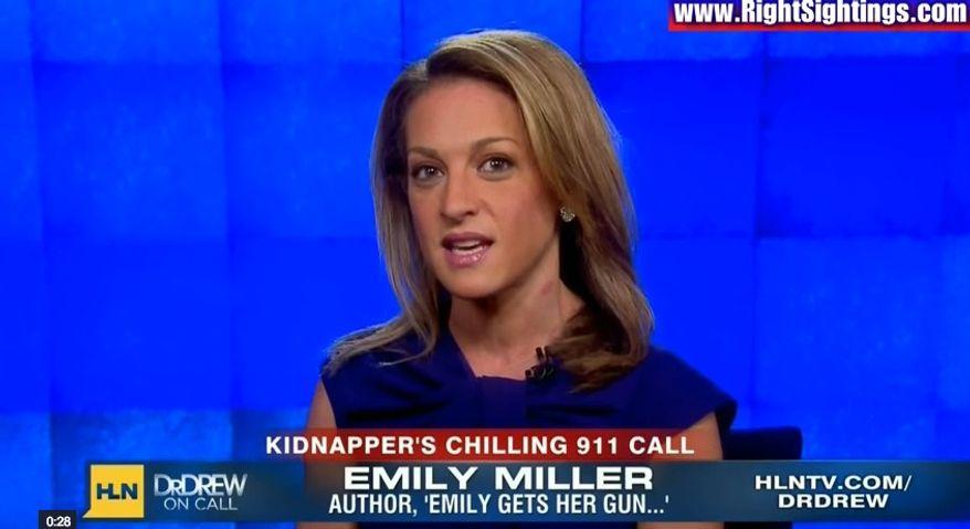 Emily Miller on CNN/HLN. Oct. 31, 2013.