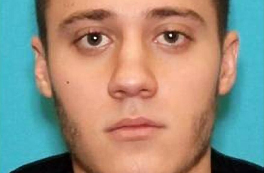 Authorities say Paul Ciancia, 23, pulled a semi-automatic rifle from a bag and shot his way past a security checkpoint at Los Angeles International Airport on Friday, Nov. 1, 2013, killing a security officer and wounding other people. Mr. Ciancia was injured in a shootout and was taken into custody, police said. (AP Photo/FBI)