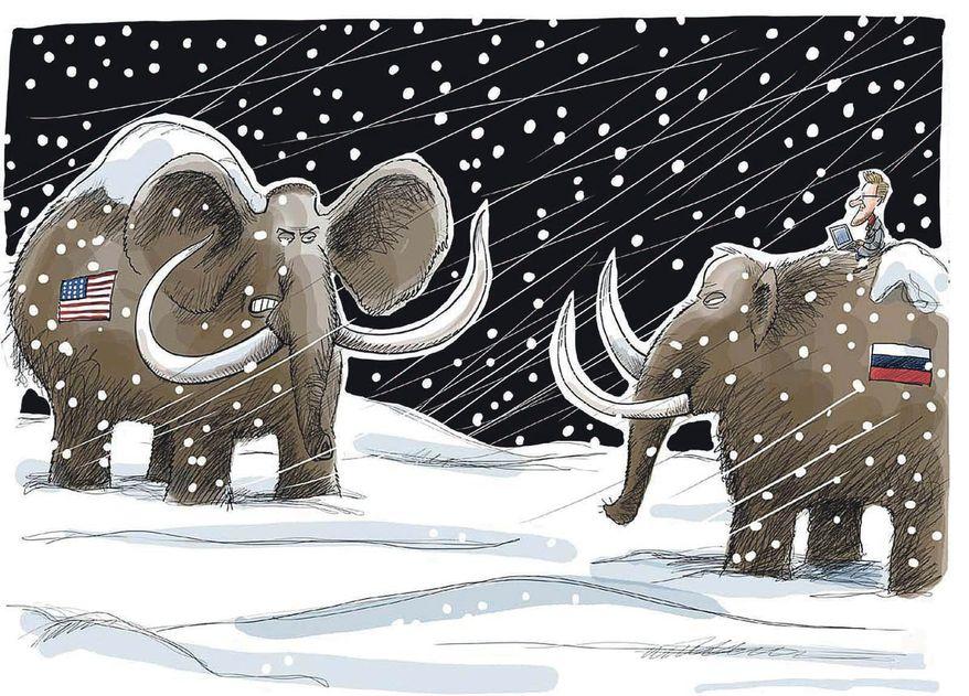 Illustration by Sakurai, Westdeutsche Allgemeine Zeitung of Essen, Germany