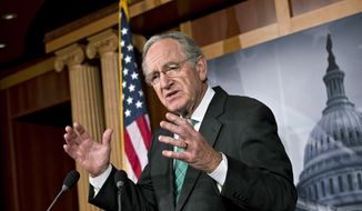 ** FILE ** Sen. Tom Harkin, D-Iowa, chairman of the Health, Education, Labor, and Pensions Committee. (AP Photo/J. Scott Applewhite)