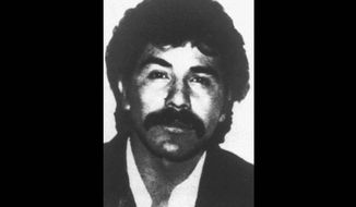 "The undated file photo distributed by the Mexican government shows Rafael Caro Quintero, who was released from prison by a judge after serving 28 years of a sentence for the torture and killing of Drug Enforcement Administration Special Agent Enrique ""Kiki"" Camarena. The U.S. government is pressing for his recapture. (Associated Press)"