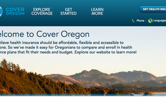 (Screen grab of http://www.coveroregon.com/)