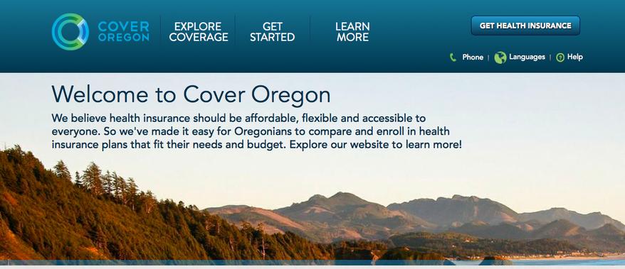 (Screen grab of http://www.coveroregon.com/)